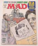 Mad Magazine December 1994 #332 O. J. Shocker