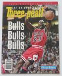 Click here to enlarge image and see more about item 24407: Chicago Bulls Three-Peat 1993 Michael Jordan