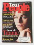 Click to view larger image of Teen People Magazine May 1998 Leonardo Di Caprio (Image1)