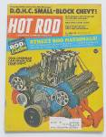 Hot Rod Magazine August 1971 Street Rod Nationals