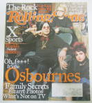 Rolling Stone Magazine May 9, 2002 Osbourne Family