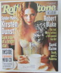 Click to view larger image of Rolling Stone Magazine May 23, 2002 Kirsten Dunst  (Image1)