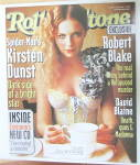 Click to view larger image of Rolling Stone Magazine May 23, 2002 Kirsten Dunst  (Image2)