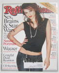 Click to view larger image of Rolling Stone Magazine June 20, 2002 Natalie Portman (Image2)