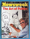 Newsweek Magazine - October 13, 1980 - Jeff MacNelly