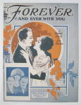 Click to view larger image of Sheet Music 1925 Forever And Ever With You  (Image1)