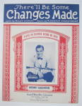Click to view larger image of Sheet Music 1932 There'll Be Some Changes Made (Image2)