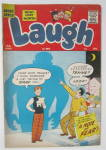 Click here to enlarge image and see more about item 24855: Laugh Comic (Archie)  January 1960 A Note Of Fear