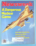 Newsweek Magazine - June 22, 1981 - Israeli F-16