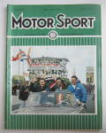 Click here to enlarge image and see more about item 24978: Motor Sport Magazine September 1965 Champion Driver