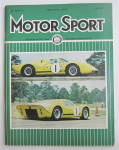 Click here to enlarge image and see more about item 25002: Motor Sport Magazine May 1967 First Appearance