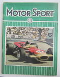 Click here to enlarge image and see more about item 25013: Motor Sport Magazine July 1968 Graham Hill
