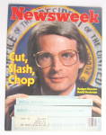 Click to view larger image of Newsweek Magazine February 16, 1981 David Stockman (Image1)