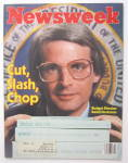 Click to view larger image of Newsweek Magazine February 16, 1981 David Stockman (Image2)