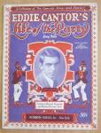 Click here to enlarge image and see more about item 25253: Eddie Cantor's Life Of The Party 1926 Song Folio