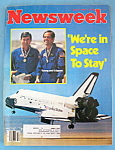 Newsweek Magazine - April 27, 1981 - Space To Stay