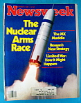 Newsweek Magazine - October 5, 1981 - Nuclear Arms Race