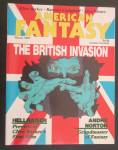 American Fantasy Magazine Winter 1987 British Invasion