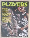 Click here to enlarge image and see more about item 25387: Players Magazine January 1974 Dick Gregory/Roz Miles