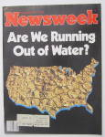 Newsweek Magazine February 23, 1981 Out Of Water