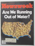 Click to view larger image of Newsweek Magazine February 23, 1981 Out Of Water (Image2)