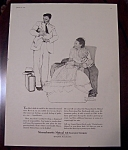 Click here to enlarge image and see more about item 2572: Norman Rockwell 1956 Massachusetts Mutual Life Ad