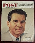 Click here to enlarge image and see more about item 2581: Norman Rockwell Nov. 5, 1960 Sat Eve Post Cover