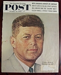Click here to enlarge image and see more about item 2582: Norman Rockwell Oct. 29, 1960  Sat Eve Post Cover