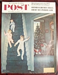Click here to enlarge image and see more about item 2584: Saturday Evening Post Cover -Falter- December 24, 1955