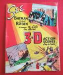 Click to view larger image of Batman Comics (3-D) 1953 The Fowls Of Fate (Image2)