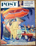 Saturday Evening Post Cover By Williamson-Jan 23, 1960