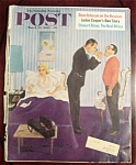 Saturday Evening Post Cover By Hughes - March 25, 1961