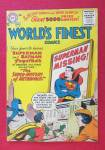 Click here to enlarge image and see more about item 25883: World's Finest Comic October 1956 Superman Missing
