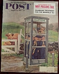 Click here to enlarge image and see more about item 2589: Saturday Evening Post Cover-Aug 26, 1961-Dick Sargent