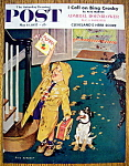 Click here to enlarge image and see more about item 2590: Saturday Evening Post Cover-May 11, 1957-Dick Sargent