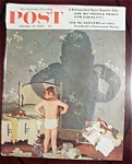 Click here to enlarge image and see more about item 2591: Saturday Evening Post Cover-Oct 22, 1960-Dick Sargent