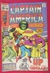 Click here to enlarge image and see more about item 25979: Captain America Comic October 1970 Up Against The Wall
