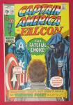 Click here to enlarge image and see more about item 25982: Captain America Comic July 1971 Badge & Betrayal