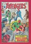 Click here to enlarge image and see more about item 25992: Avengers Comic October 1970 When Dies A Legend