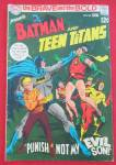 Click here to enlarge image and see more about item 26018: Batman & Teen Titans Comic May 1969 Evil Son