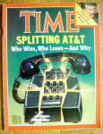 Click to view larger image of Time Magazine-November 21, 1983-Splitting AT & T (Image1)