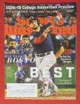 Sports Illustrated Magazine November 5, 2018 Boston