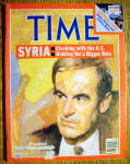 Time Magazine-December 19, 1983-President Hafez Assad