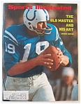 Sports Illustrated Magazine-July 10, 1972-Johnny Unitas