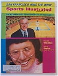 Sports Illustrated Magazine-December 25, 1972-B King