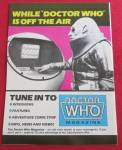 Click to view larger image of Doctor (Dr) Who Magazine March 1986 (Image2)