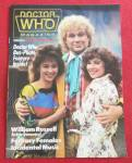Click to view larger image of Doctor (Dr) Who Magazine August 1986 William Russell (Image1)