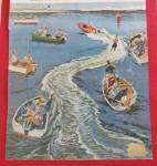 Click to view larger image of 1958 Saturday Evening Post Cover (Only) By Prins (Image2)