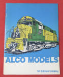 Click here to enlarge image and see more about item 27264: Alco Model Railroad Train Catalog 1970's (1st Edition)