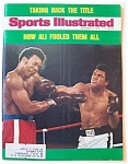 Sports Illustrated Magazine-November 11, 1974-Ali